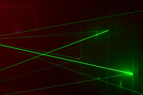 The Laser Maze: training ground for aspiring spies and optical scientists