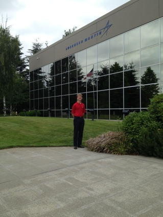 Myself at the Lockheed Site in Bothell, WA