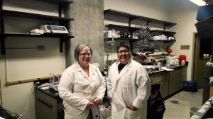 Tammie Bowman and Janet Schaffer